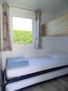 Location hebergement - Tithome chambre enfants - Camping l'Espérance 4 etoiles - Denneville - Cotentin - Normandie