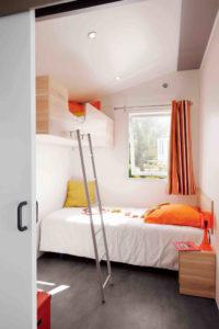 Location mobil-home - Handi Life chambre enfants camping esperance 4 etoiles - denneville - Cotentin - normandie
