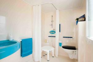 Location mobil-home - Handi Life salle de bain - camping esperance 4 etoiles - denneville - Cotentin - normandie