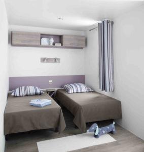 Location mobil-home - SUPER-OCTALIA-3-CHAMBRE-ENFANTS - camping esperance 4 etoiles avec espace aquatique - Denneville - Cotentin - Normandie