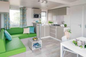 Location mobil-home - SUPER-TITANIA-SEJOUR - camping esperance 4 etoiles avec espace aquatique - Denneville - Cotentin - Normandie
