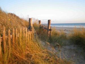 Plage proche camping - camping esperance 4 etoiles avec espace aquatique - Denneville - cotentin - normandie