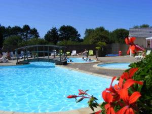 activite camping - equipements - espace aquatique piscine chuaffée - camping esperance 4 etoiles avec espace aquatique - cotentin - normandie