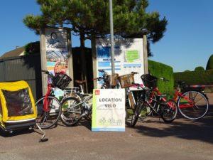 Location vélos Port bail Sur Mer